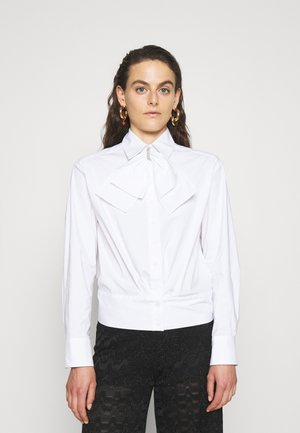 CANDY GLAM BLOUSE - Button-down blouse - white