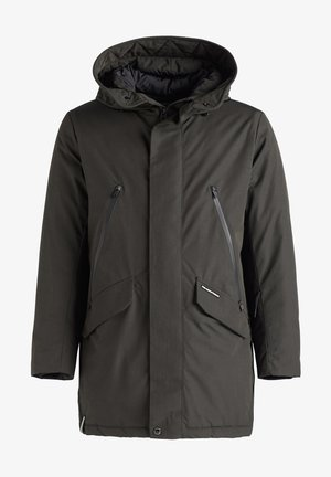 DANCER - Winter coat - dunkeloliv