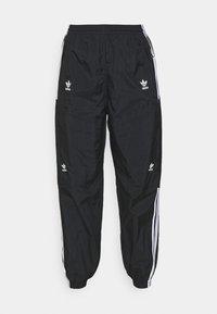 TRACK PANTS - Verryttelyhousut - black