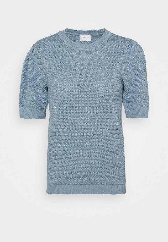 VICHASSA PUFF - T-shirt basic - ashley blue