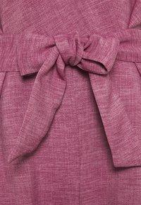 Closet - WRAP OVER TIE FRONT  - Jumpsuit - lilac - 2