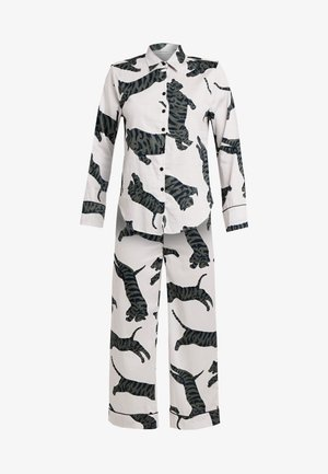 SUZIE SET - Pyjama set - tiger moon grey