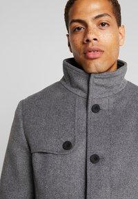 TOM TAILOR - COAT 2 IN 1 - Classic coat - mid grey - 5