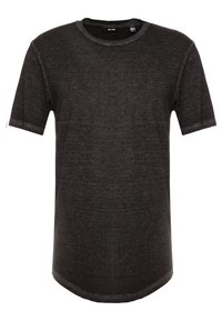 Only & Sons - ONSLONE LONGY BURNOUT TEE - T-shirts - phantom - 0