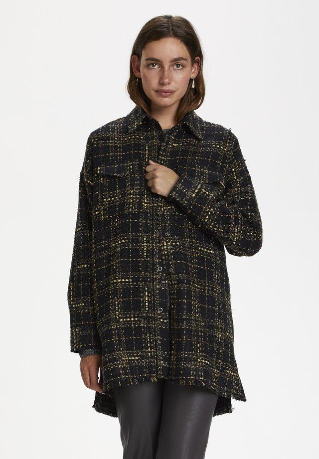 COPPOLA  - Short coat - chunky check