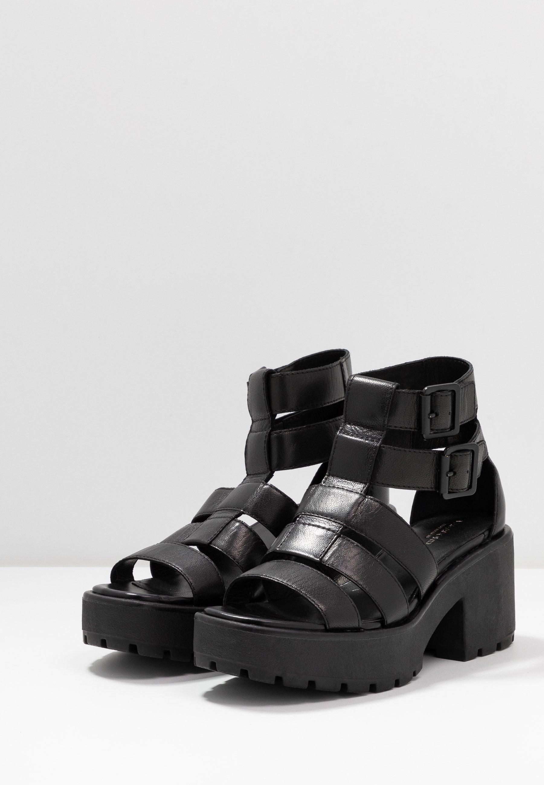 Vagabond DIOON - Sandales à plateforme - black