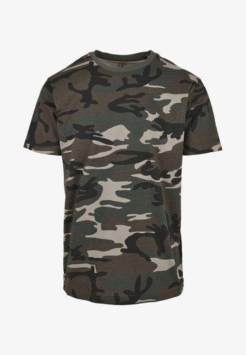 Basic T-shirt - woodland