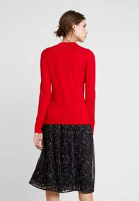comma casual identity - REPEAT TURTLE NECK JUMPER - Jumper - red - 2