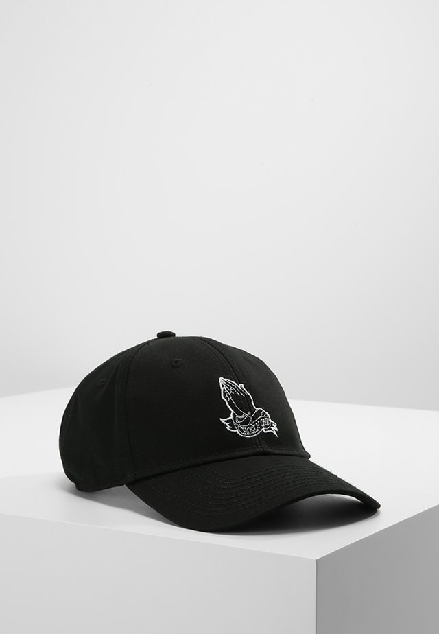 CHOSEN ONE CURVED  - Gorra - black/white