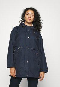 Ragwear Plus - HALINA - Summer jacket - navy - 0
