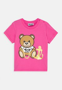 MOSCHINO - Print T-shirt - azalea pink - 0