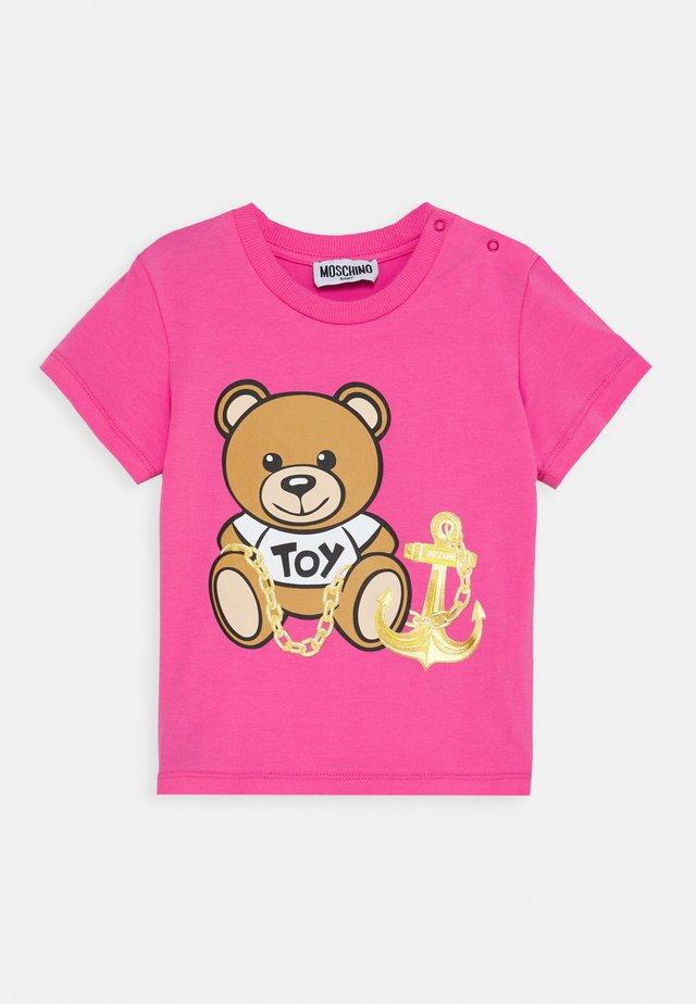 Print T-shirt - azalea pink