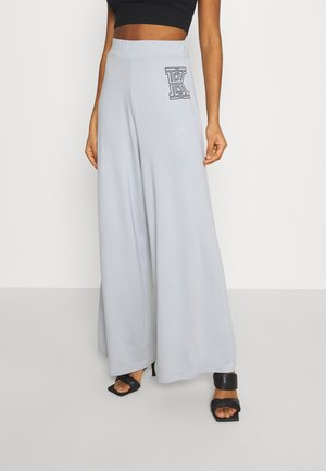 FLARE PANTS - Trousers - grey