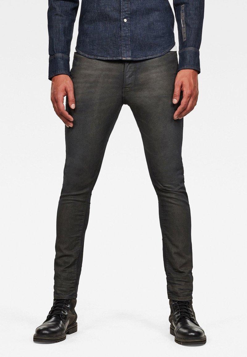 G-Star - D-STAQ 3D SLIM COJ - Slim fit jeans - raven soft cobler
