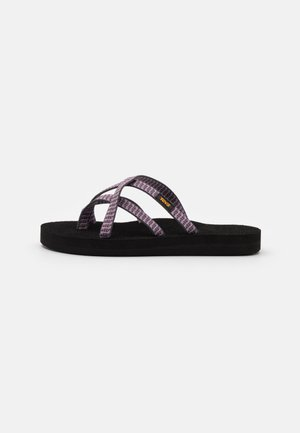 OLOWAHU - T-bar sandals - falls twilight mauve
