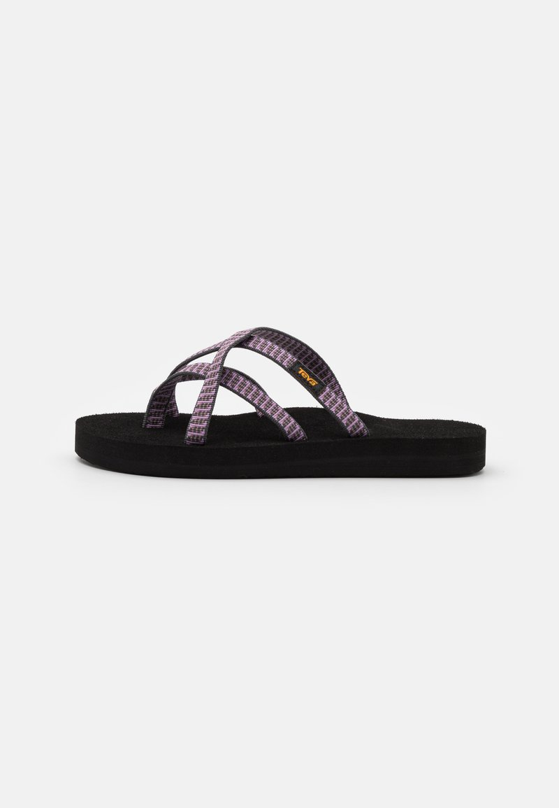 Teva - OLOWAHU - T-bar sandals - falls twilight mauve