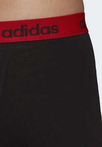 adidas Performance - BRIEFS 3 PAIRS - Pants - red - 7