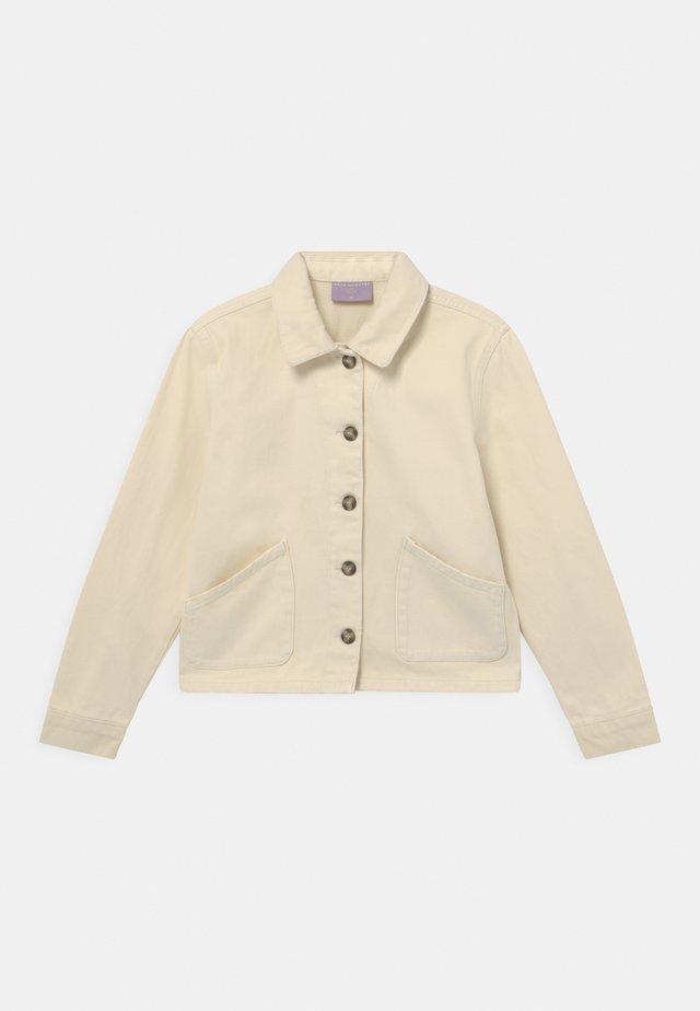 MUSSE - Veste en jean - off white