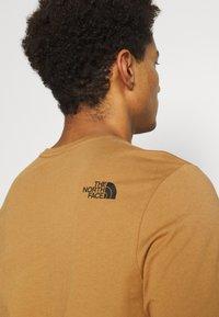 The North Face - IMAGE IDEALS TEE UTILITY BROW - Långärmad tröja - utility brown - 3