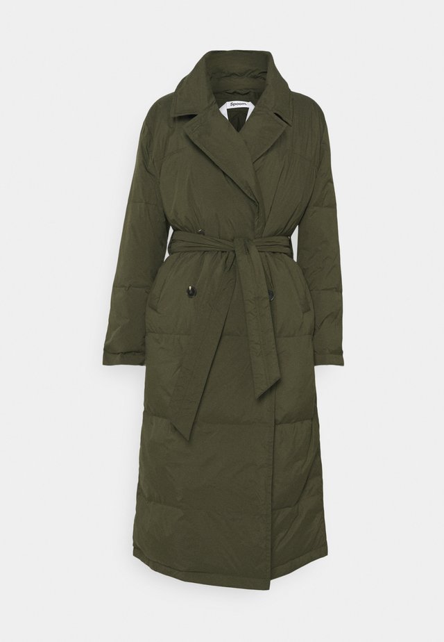 SUE - Down coat - army