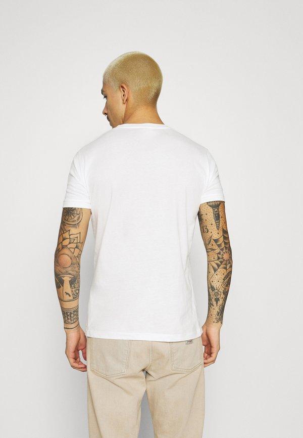 Pepe Jeans CHARING - T-shirt z nadrukiem - off white/mleczny Odzież Męska UCOT