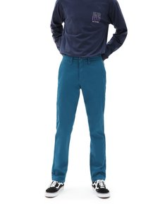 Vans - MN AUTHENTIC CHINO STRETCH - Chinos - moroccan blue - 0