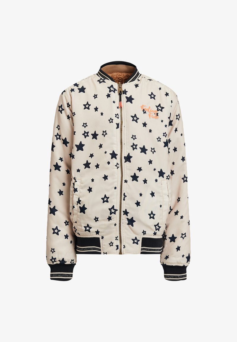 WE Fashion - CYRUS REVERSIBLE BOMBER - Bomber Jacket - all-over print