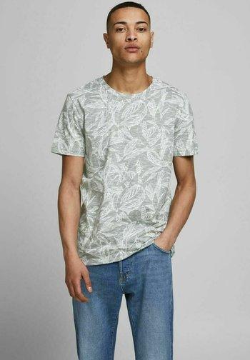 JORLEFO TEE CREW NECK - T-shirt med print - sea spray