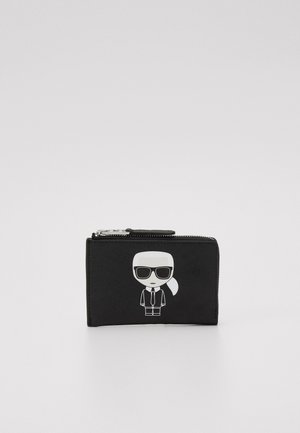 IKONIK ZIP CARD HOLDER - Portefeuille - black