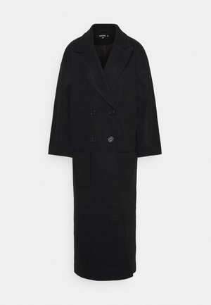 OVERSIZED FORMAL COAT - Kåpe / frakk - black