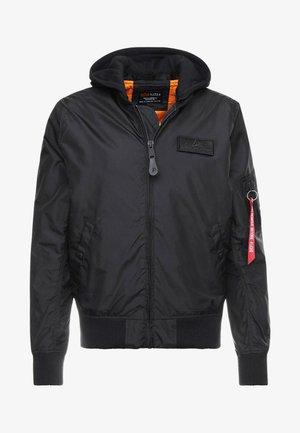 HOOD - Bomber Jacket - black