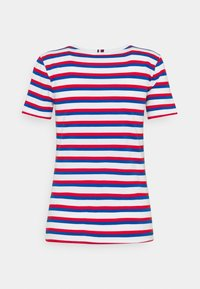 Tommy Hilfiger - COOL SLIM ROUND - Print T-shirt - ombre/ fireworks - 1