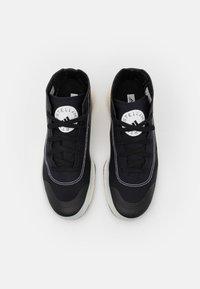 adidas by Stella McCartney - ASMC TREINO MID - Sportovní boty - core black/cloud white/offwhite - 3