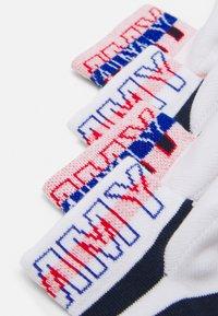 Tommy Hilfiger - KIDS QUARTER WORDING 4 PACK UNISEX - Socks - black - 1