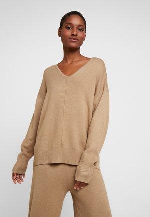 Pullover - tannin melange