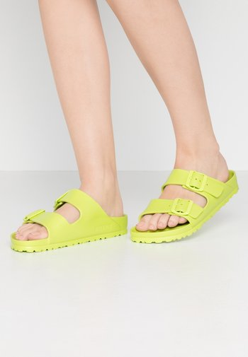 ARIZONA EVA - Sandály do bazénu - active lime