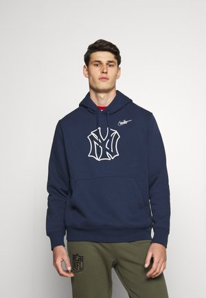 MLB NEW YORK YANKEES COOPERSTOWN LOGO CLUB HOODIE - Mikina - midnight navy