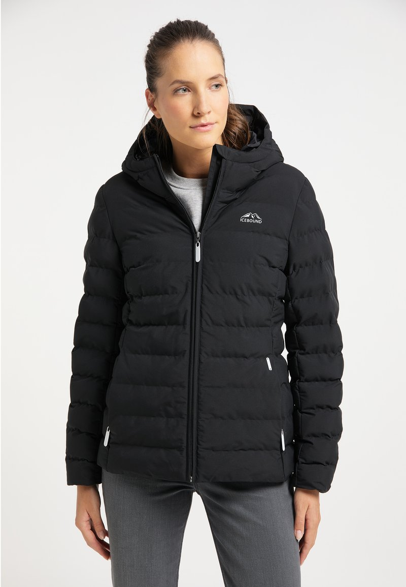 ICEBOUND - Winter jacket - schwarz