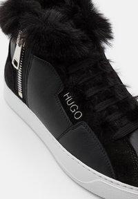 HUGO - Zapatillas altas - black - 4