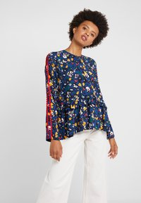 Libertine-Libertine - RECORD - Blouse - navy flower - 0
