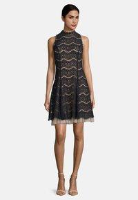Vera Mont - Cocktail dress / Party dress - dark blue/rosé - 1