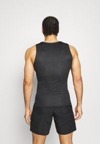 ODLO - ACTIVE F DRY LIGHT CREW NECK TANK - Top - black - 2
