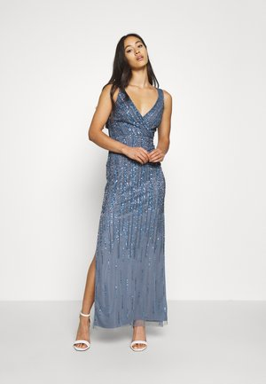 MACKENZIE MAXI - Occasion wear - navy irridescent