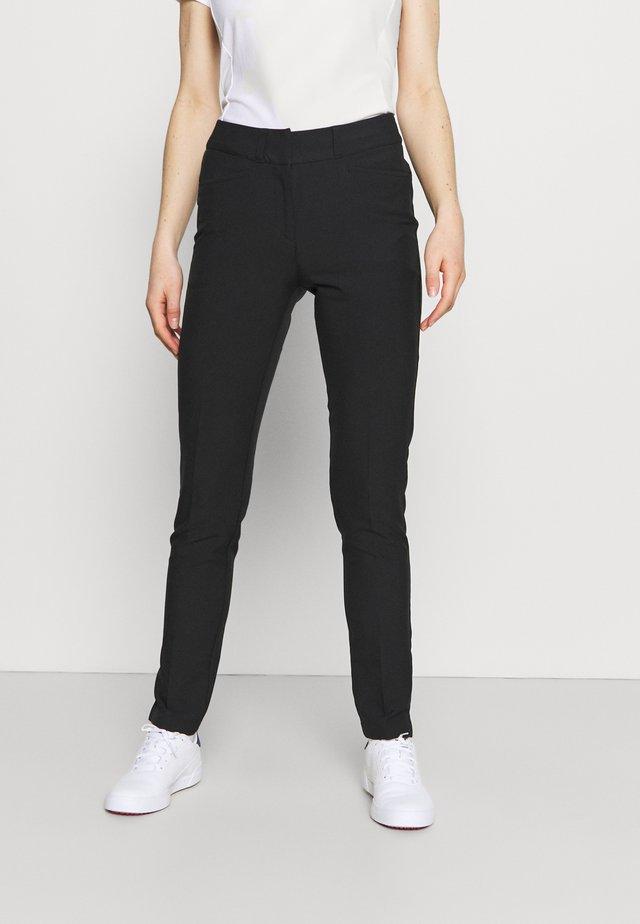 FULL LENGTH PANT - Tygbyxor - black
