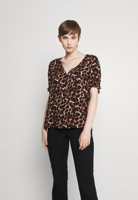 Pieces - PCCARLA - Print T-shirt - brown - 2