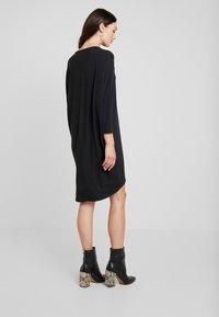 Moss Copenhagen - TILDE DRESS - Jersey dress - mottled dark grey - 3