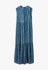 PULL&BEAR - Maxi šaty - blue - 4