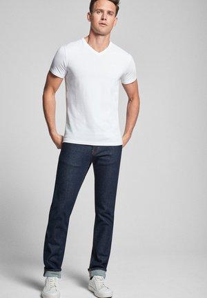 2ER-PACK MODAL COTTON STRETCH - Basic T-shirt - weiß