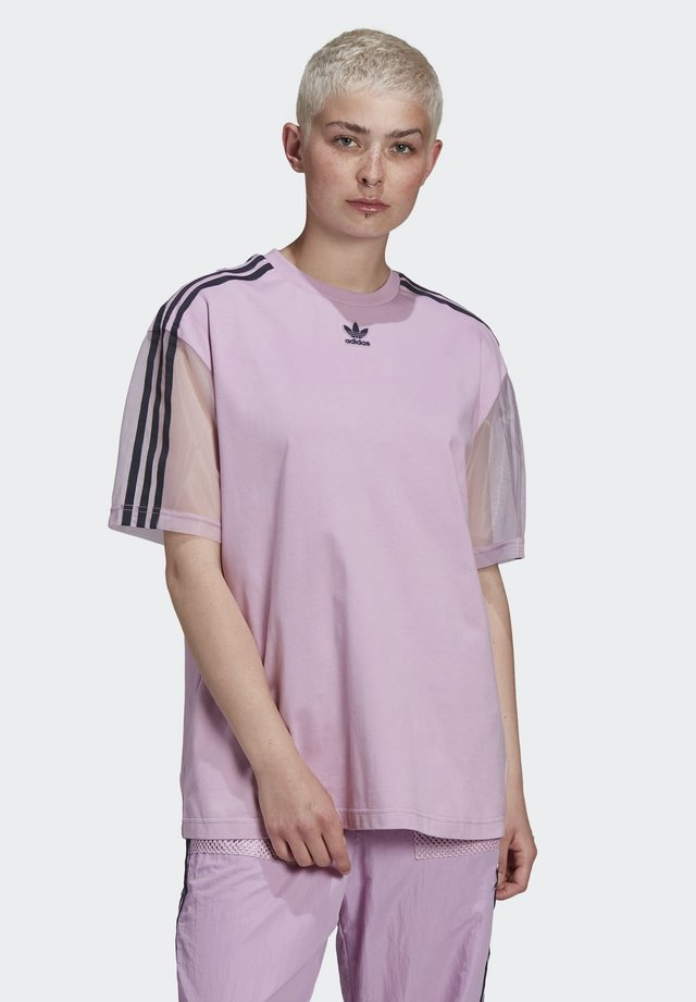 T-SHIRT - Print T-shirt - purple