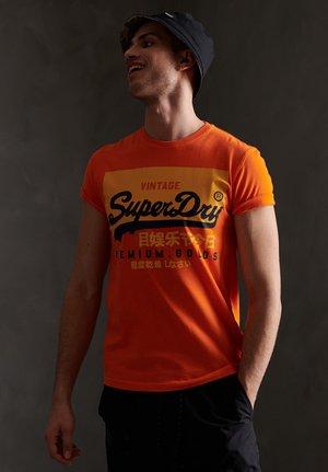 TEE - Print T-shirt - denver orange